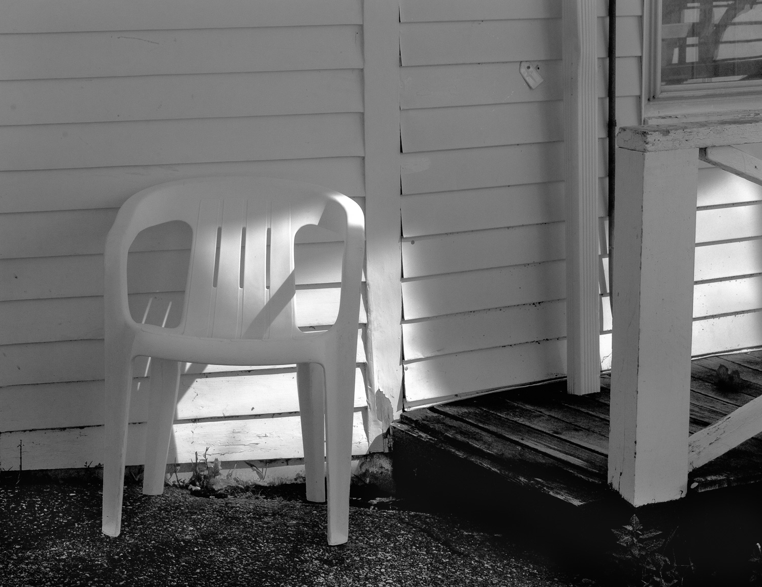 Lighted Chair, Wellfleet, Mass.